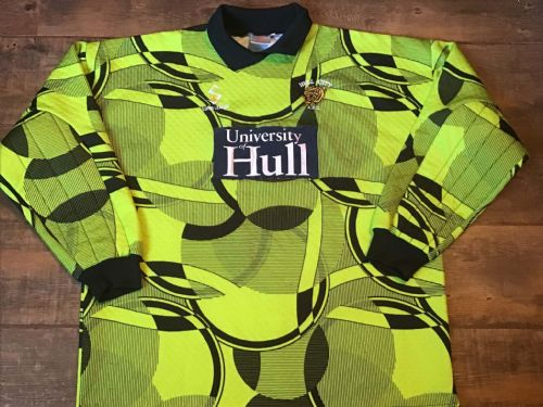 1997 1998 Hull City Goalkeeper Football Shirt 2XL
